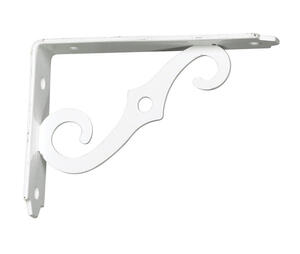 Ace  White  Steel  Shelf Support  5 in. L 80 lb.