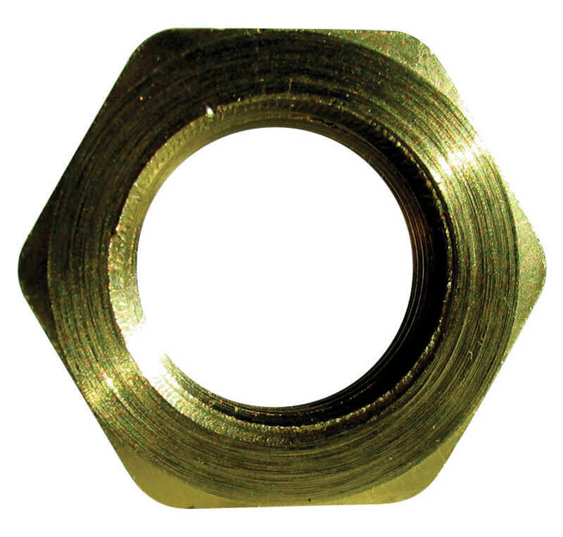 JMF  Brass  Pipe Lock Nut  1/2 in. Dia.