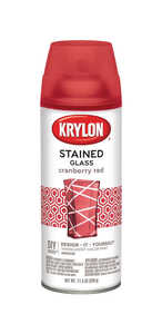 Krylon  Stained Glass  Cranberry Red  11.5 oz. Spray Paint