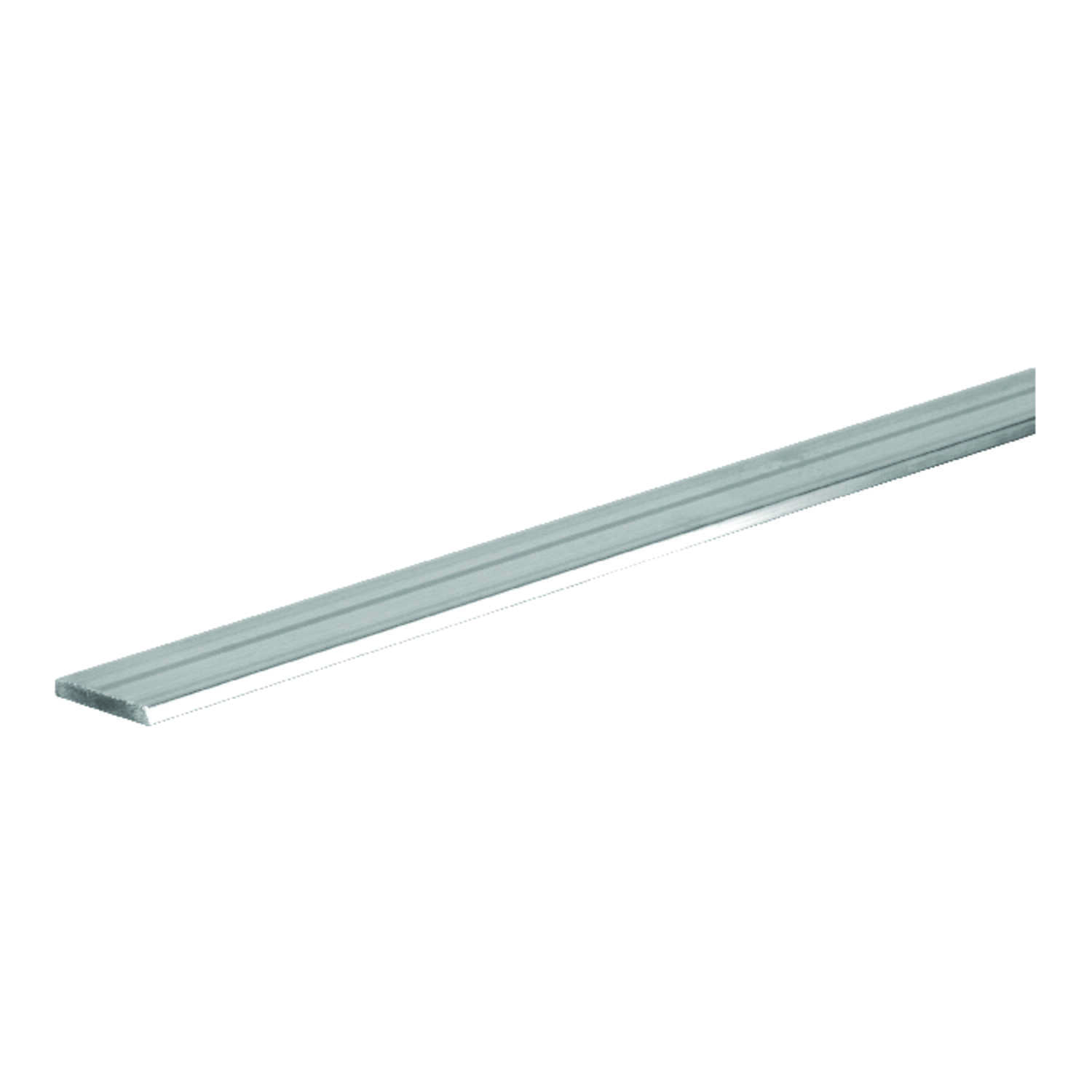 Boltmaster  0.0625 in.  x 0.75 in. W x 3 ft. L Weldable Aluminum Flat Bar  1 pk