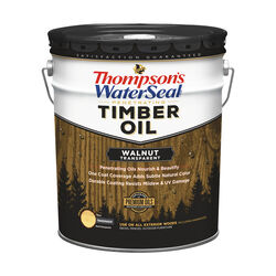 Thompson's WaterSeal Transparent Walnut Penetrating Timber Oil 5 gal.