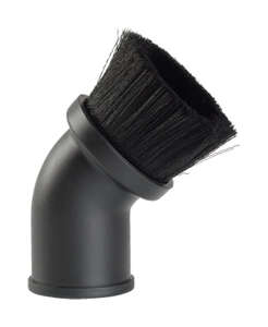 Craftsman  4  L x 4 in. W x 1-7/8 in. Dia. Dusting Brush  Black  1 pk