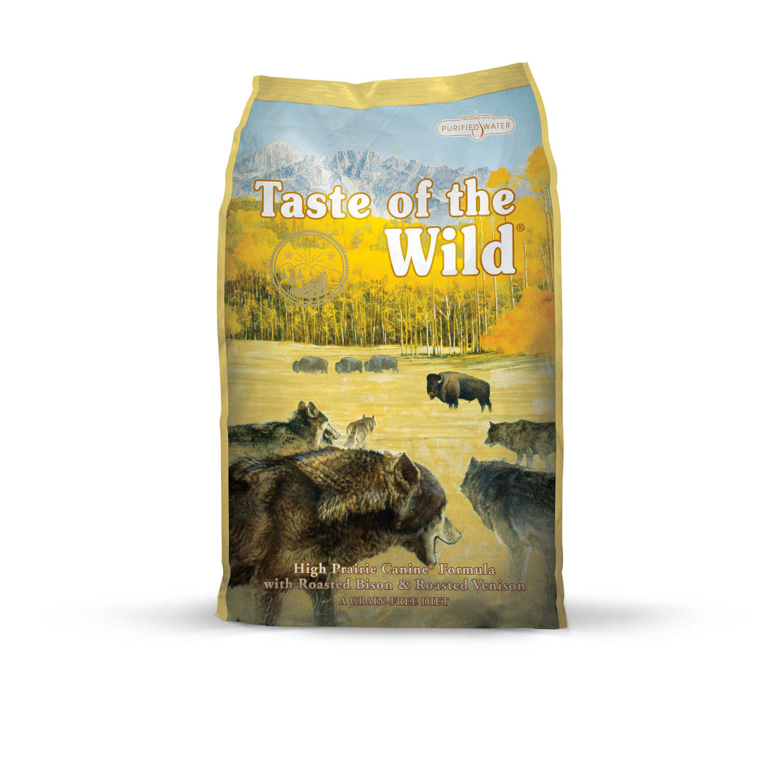 Taste of the Wild  High Prairie  Bison  Dog  Food  Grain Free 5 lb.