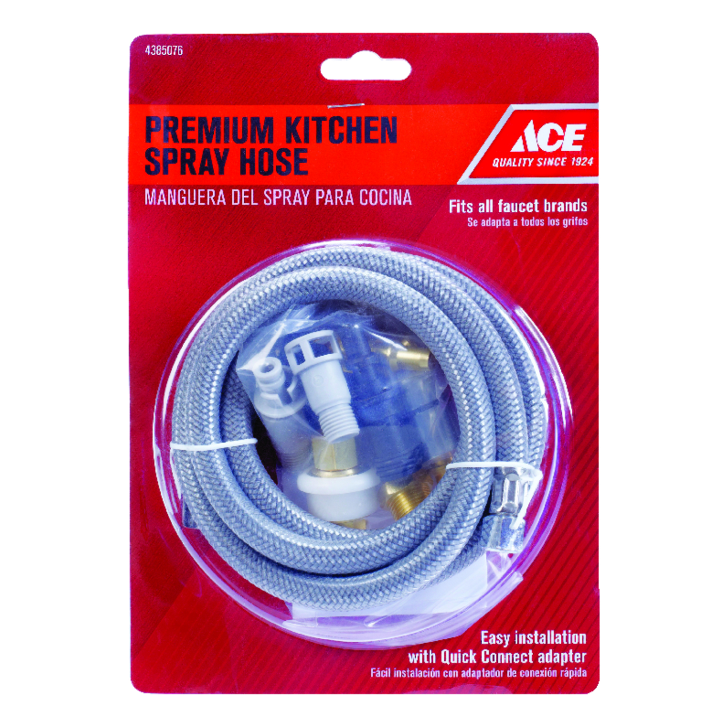 Ace Gray Other Chrome Spray Hose Pull out faucet head to the faucet ...