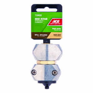Ace  5/8 or 3/4 in. Zinc  Hose Mender Clamp