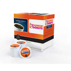 Keurig  Dunkin' Donuts  French Vanilla  Coffee K-Cups  16 pk
