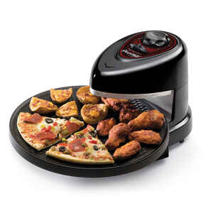 Presto  Semi-Gloss  Black  Electric Pizza Oven