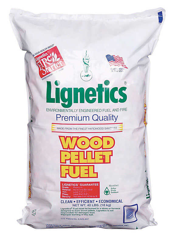 Lignetics  Oak  Wood Pellet Fuel  40 lb.