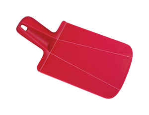 Joseph Joseph  6-1/2 in. W x 12-1/2 in. L Red  Cutting Board