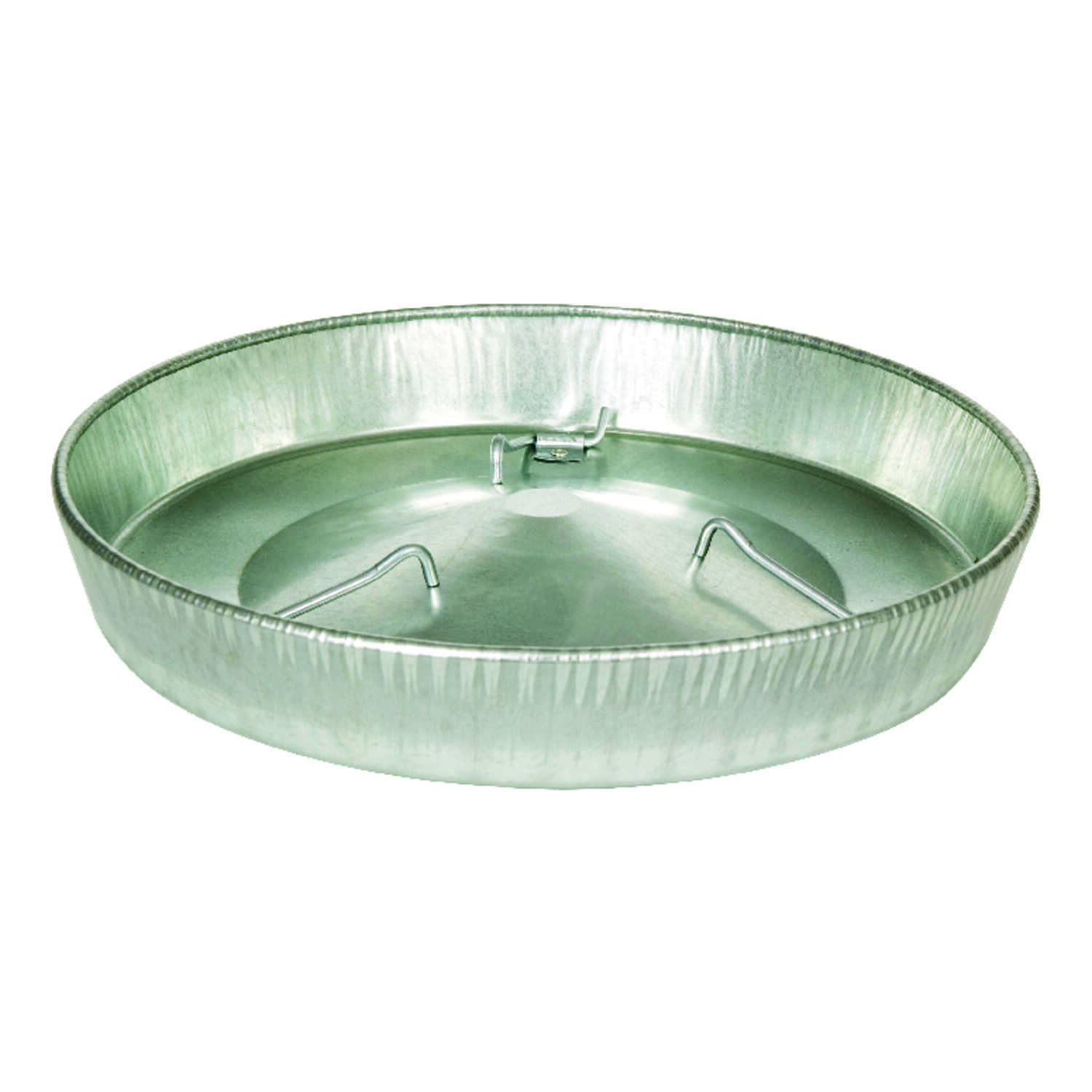 Miller  640 oz. Feeder Pan  14-1/4 in. D x 2-1/4 in. H For Poultry