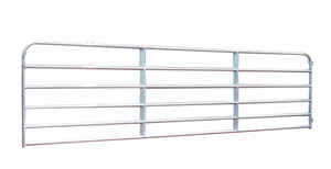 Behlen Country  48 in. L Galvanized  Steel  Utility Tube Gate  1 pk