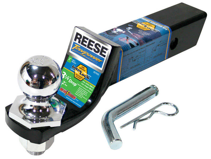 Reese  Towpower  Steel  Locking  2 in. 9-1/2 in. Towing Starter Kit