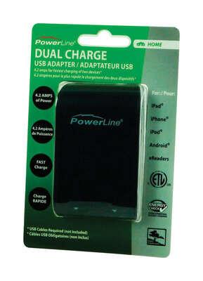 PowerLine  Dual USB Fast Charger