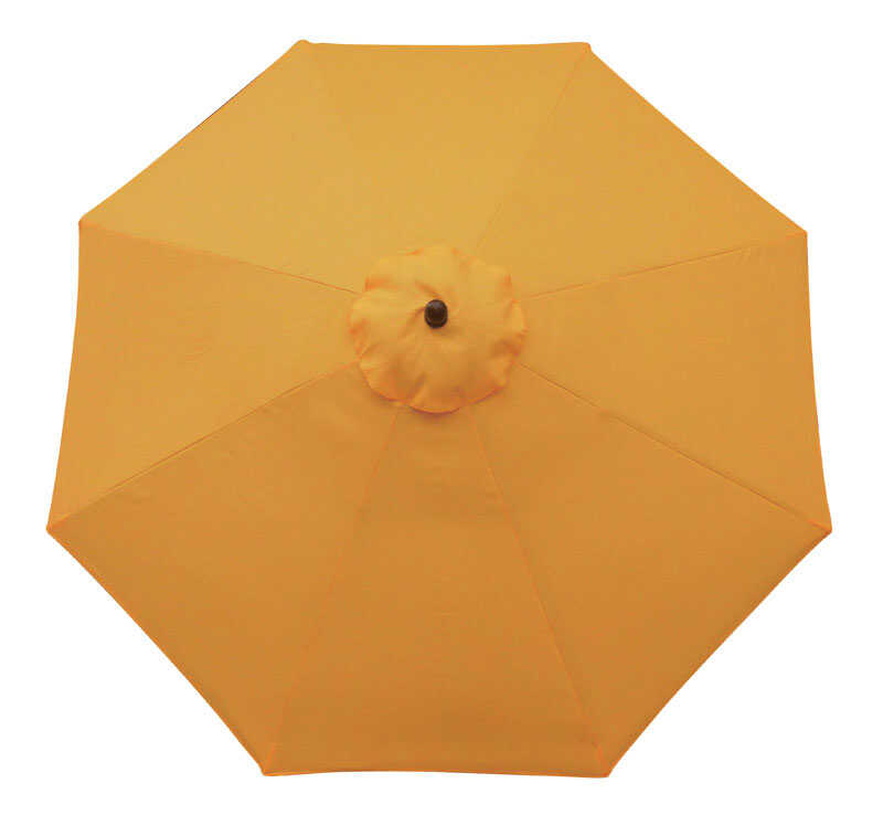 Sunline  9 ft. Yellow  Market Umbrella