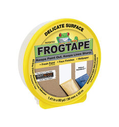 FrogTape 1.41 in. W x 60 yd. L Yellow Low Strength Painter's Tape 1 pk