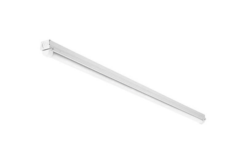 Lithonia Lighting  46 in. L White  Hardwired  Strip Light  2300 lumens