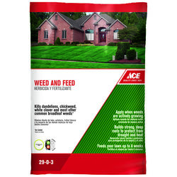 Ace  29-0-3  Weed and Feed  For All Grass Types 43.8 lb. 15000 sq. ft.