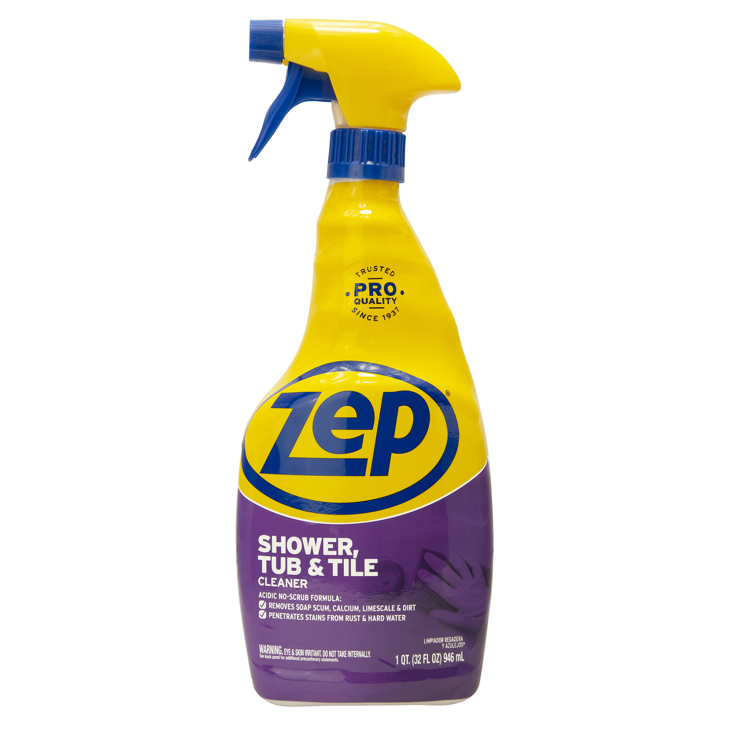 Zep No Scent Tub and Tile Cleaner 32 oz. Trigger Spray Bottle - Ace ...