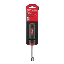 Milwaukee  11/32 in. SAE  Hollow Shaft Nut Driver  7 in. L 1 pc.
