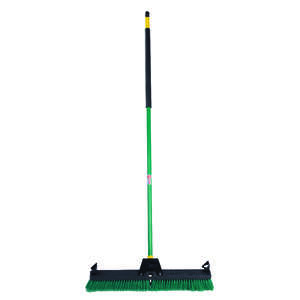 Quickie  Bulldozer  Smooth Surface Push Broom  24 in. W x 60 in. L Polypropylene
