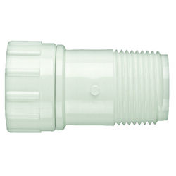 Lasco  Schedule 40  3/4 in. MPT   x 3/4 in. Dia. FHT  PVC  Hose Adapter