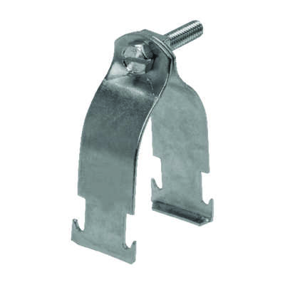 Unistrut  2 in. Steel  Conduit Clamp  1 pk