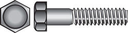 Hillman 1/4 in. Dia. x 1-1/2 in. L Zinc Plated Steel Hex Bolt 100 pk