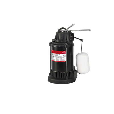 Ace  1/2 hp 4300 gph Thermoplastic  Vertical Float Switch  AC  Submersible Sump Pump