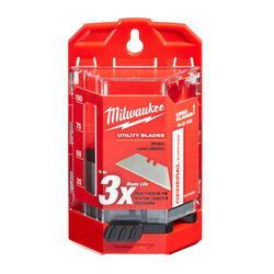 Milwaukee  Micro Carbide Metal  Utility  Blade Dispenser with Blades  3 in. L 50 pc.