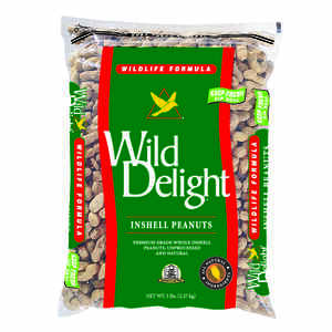 Wild Delight  Assorted Species  Wild Bird Food  Peanuts  5 lb.