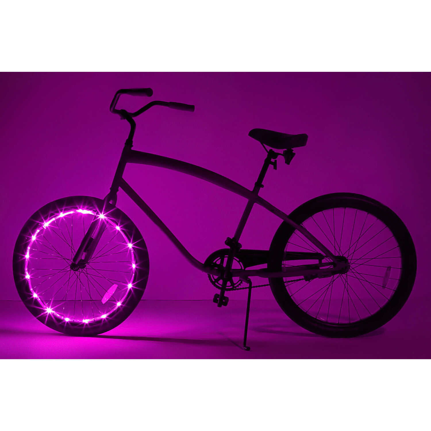 Brightz  WheelBrightz  bike lights  LED Bicycle Light Kit  ABS Plastics/Polyurethane/Electronics  1