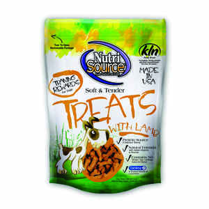 Nutri Source  Lamb  Dog  Grain Free Treats  1  6 oz.