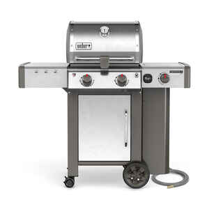 Weber  Genesis II LX S-240  Natural Gas  Freestanding  Grill  Stainless Steel  2