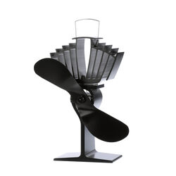 Ecofan AirMax Aluminum Heat Powered Wood Stove Fan