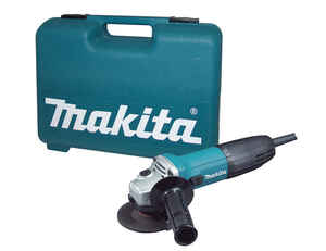 Makita  4 in. in. 120 volt 6 amps Corded  Small  Angle Grinder  11000 rpm