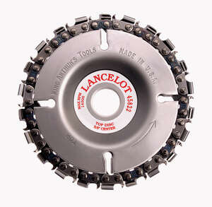 King Arthur's Tools  4  Chain Saw Type Cutting Wheel  5/8  22 teeth 1 pk