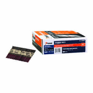 Paslode  30 deg. 16 Ga. Smooth Shank  Straight Strip  Framing Nails  3 in. L x 0.11 in. Dia. 2500 pk