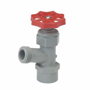 BK Products  Celcon  3/4 in.  x 3/4 in.  FIP x MHT  Plastic  Drain Valve  Lead-Free
