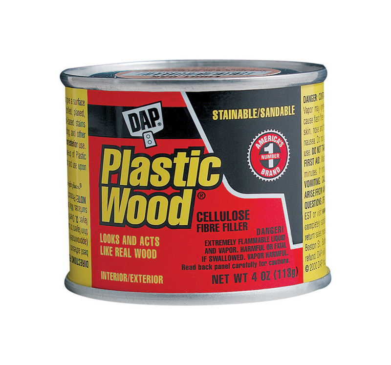DAP  Plastic Wood  Light Oak  Wood Filler  4 oz.