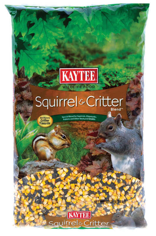 Kaytee  Squirrel  Squirrel and Critter Food  Corn  10 lb.