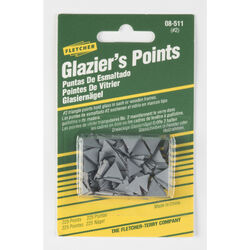 Fletcher  Glazier Points  For Repairing or reglazing windows 0 oz. 225 pk