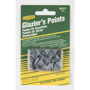 Fletcher  Glazier Points  Repairing or reglazing windows  0 oz. 225 pk