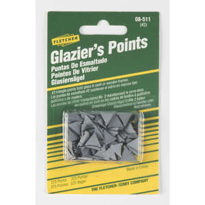 Fletcher  Repairing or reglazing windows  Glazier Points  225 pk