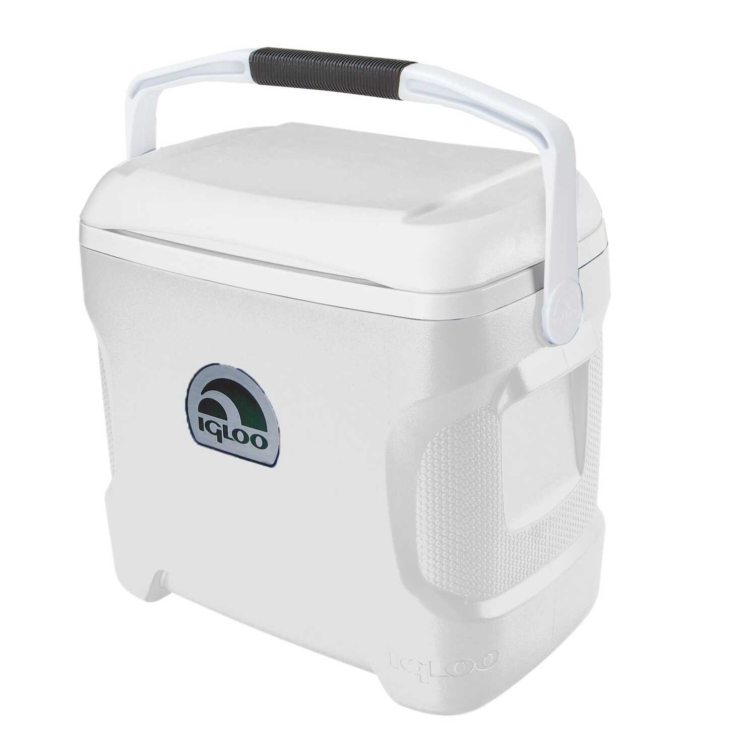 Igloo  Marine Ultra  Cooler  30 qt. White