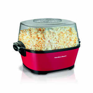 Hamilton Beach  Multicolored  6 qt. Oil  Popcorn Popper