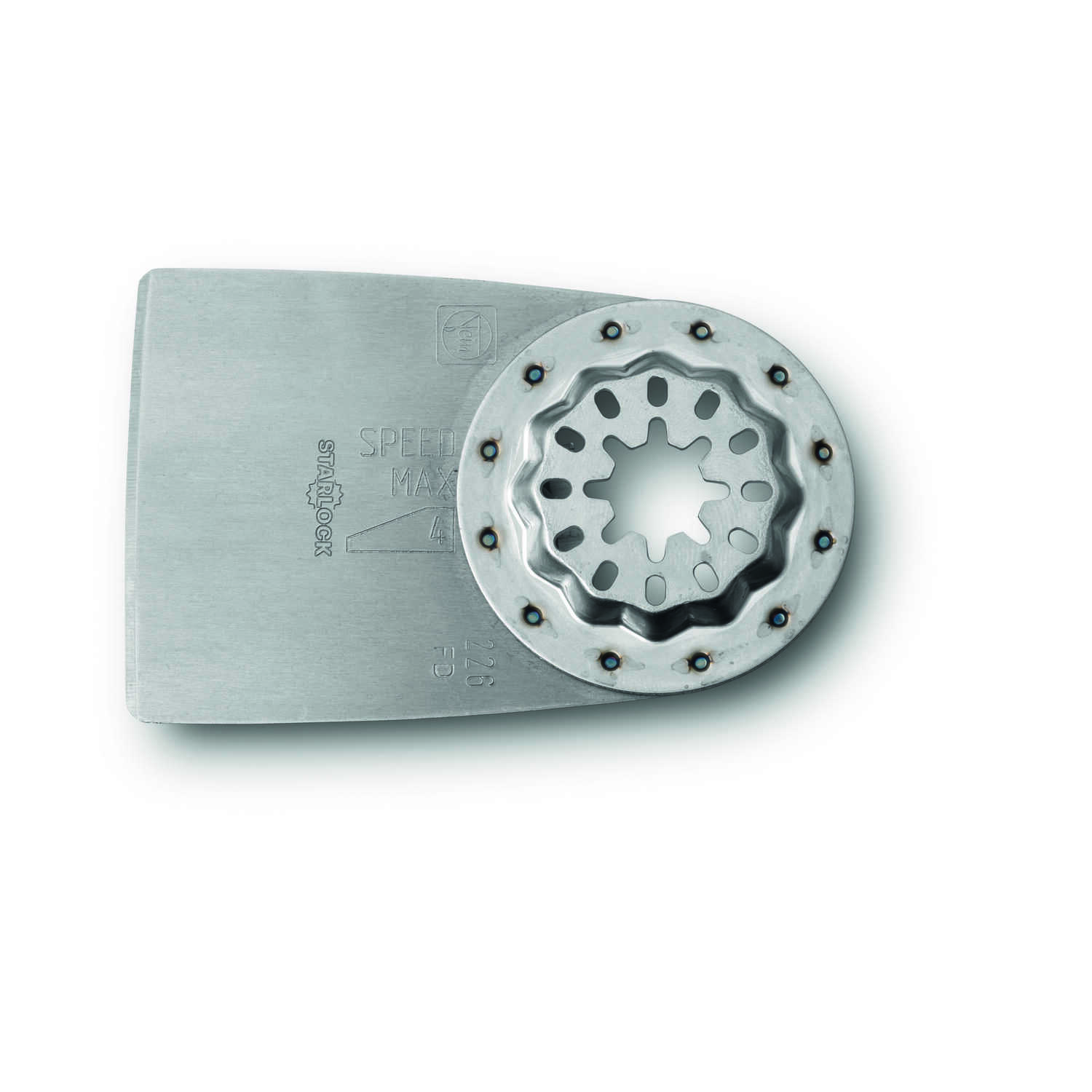 Fein Starlock  Multimaster  2 in.  x 6.2 in. L Steel  Rigid Scraper Blade  1 pk