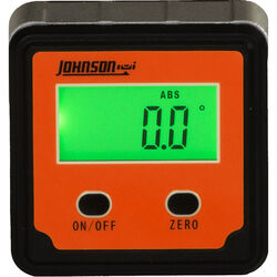 Johnson  Magnetic Digital Angle Locator  Orange