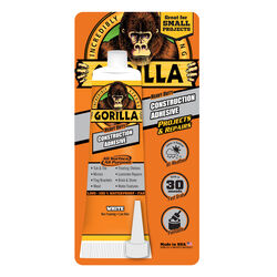 Gorilla  All Purpose Construction Adhesive  2.5 oz.