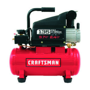 Craftsman  3 gal. Portable Air Compressor  135 psi 1 hp