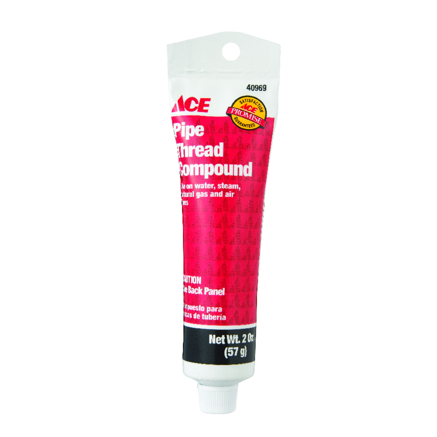 Ace  Gray  2 in. W Pipe Thread Compound  2 oz.